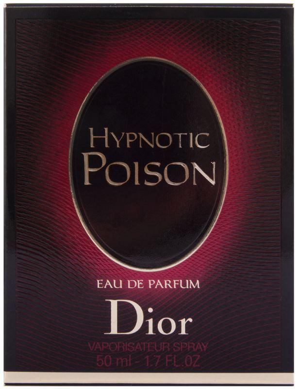 hypnotic poison eau de parfum 100 ml christian dior my trendy lady. Black Bedroom Furniture Sets. Home Design Ideas