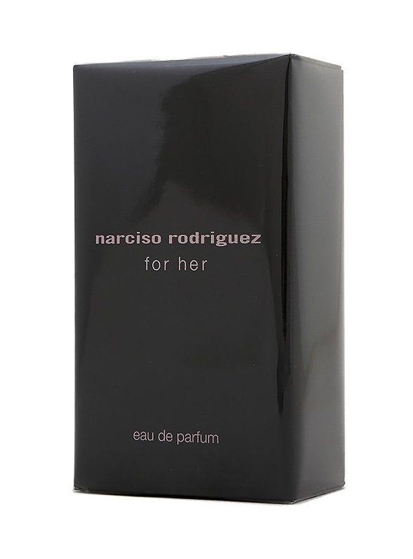 narciso rodriguez for her eau de parfum edp pour femmes de narciso rodriguez. Black Bedroom Furniture Sets. Home Design Ideas